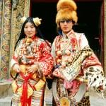 Tibet wedding ceremony
