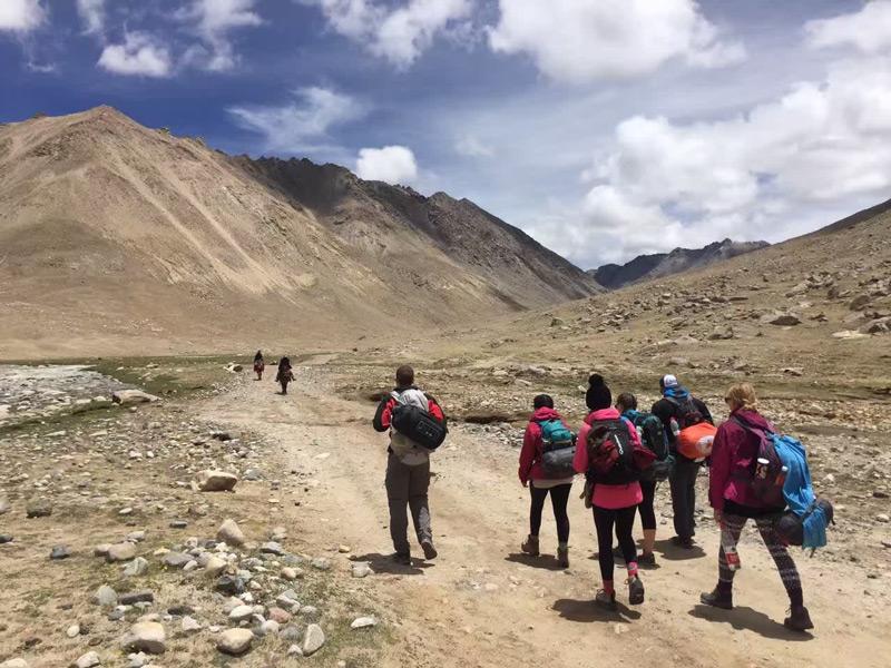 trekking tour