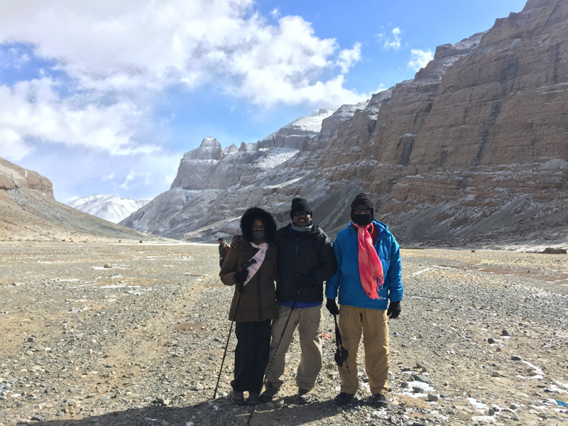 The Valley of Mount Kailash
