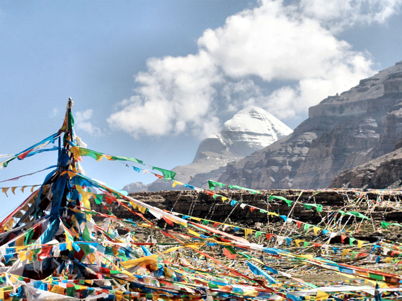 Saga Dawa festival at Mount Kailash