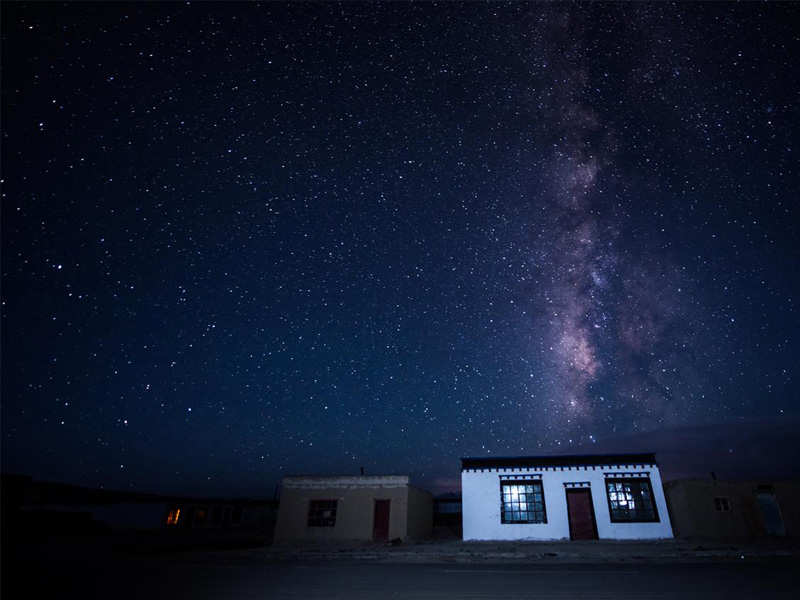 The best place for watching starry sky