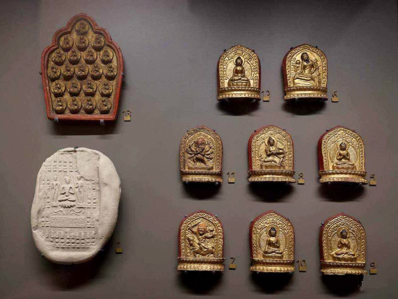 Tsha Tshas are handcrafted figurines made of clay