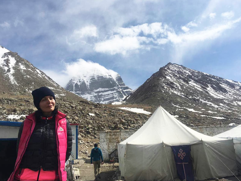 Paying a visit to holy Mount Kailash in Ngari, Tibet