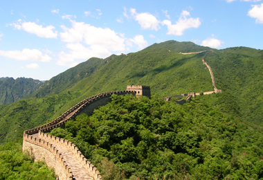 Mutianyu Great Wall in Spring