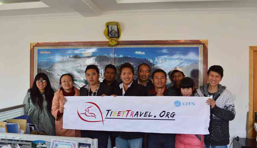 Our Tibet Travel Operation Team