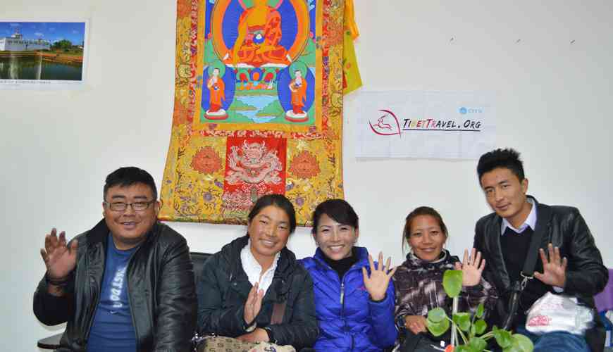 Our Tibet Travel Permit Application Team