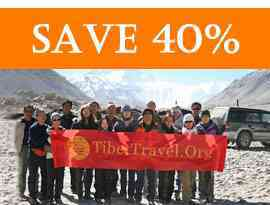 TibettravelOrg Clients at Everest Base Camp