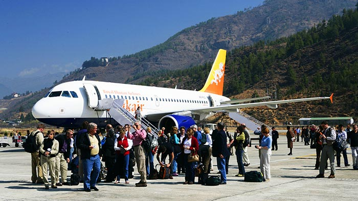 Getting to Bhutan from Kathmandu