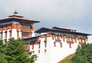 Jakar Dzong  is the dzong of the Bumthang District in central Bhutan.