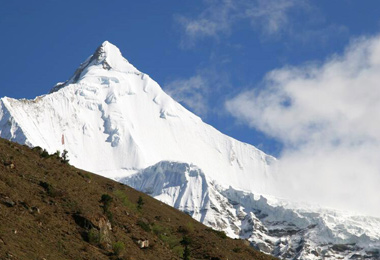 Jichu Drake is a mountain in the Himalayas, and also a companion peak to Mount Jomolhari.
