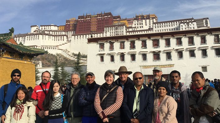 Potala Palace in Spring
