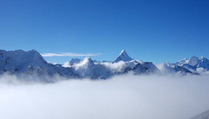 Everest in Rainy Season