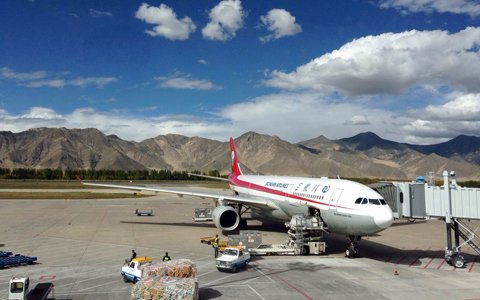 International Flights to Tibet
