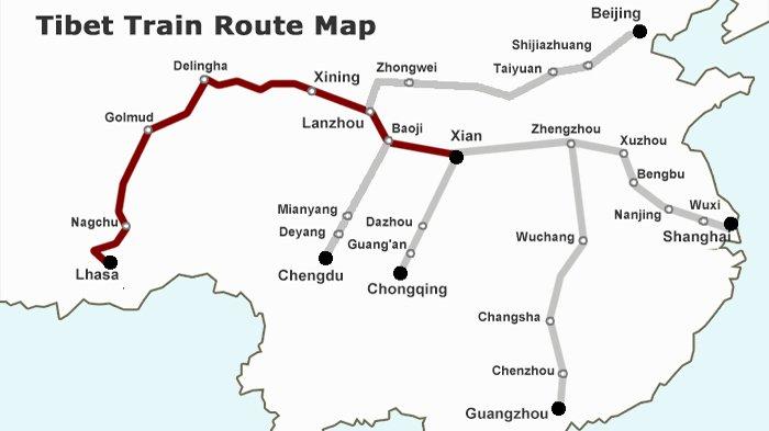 Tibet train is always popular among tourists.