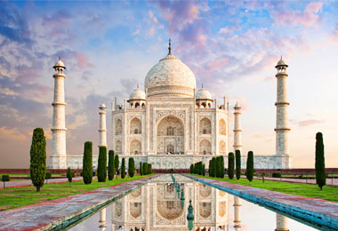 Taj Mahal: one of the 7 wonders of the world