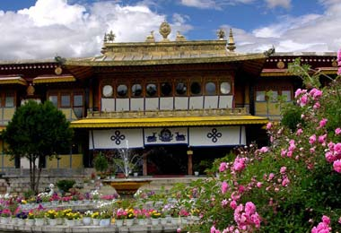 Norbulingka - the Summer Palace of  Dalai Lama