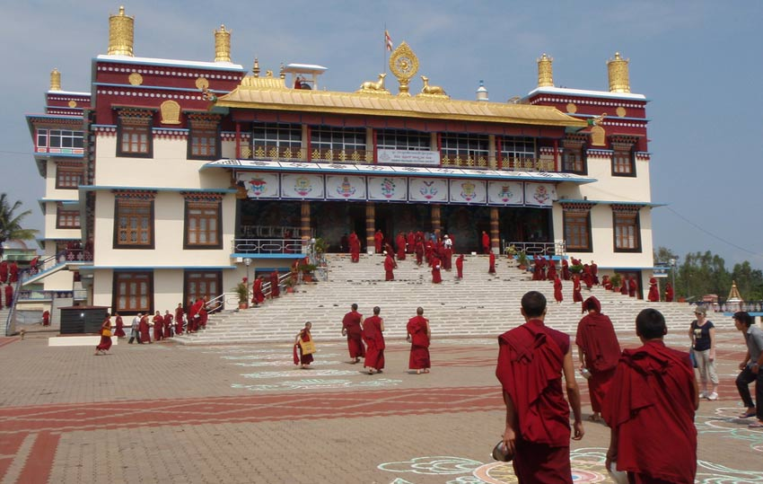 Sera Monastery  is one of three famous monasteries in the city along with the Drepung Monastery and the Ganden Monastery.