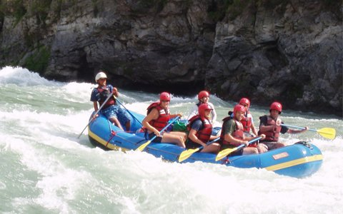 5 Days Lhasa and Tolung River Rafting Tour