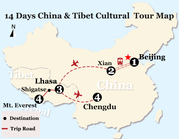 14 days world cultural heritage sites tour of china and tibet gumiabroncs Image collections