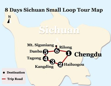 8 Days Western Sichuan Impression – Small Loop Tour