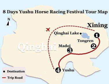 Tour Map:
