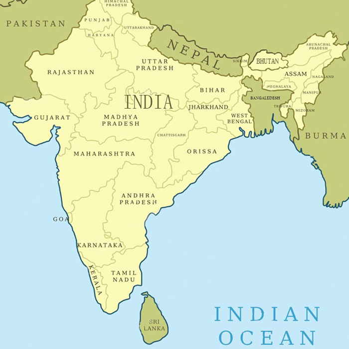 Where is Bhutan in India Map? / Bhutan India Map