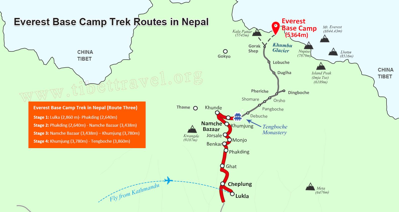 Nepal Map Map of Nepal Nepal Tour Map Tibet Vista