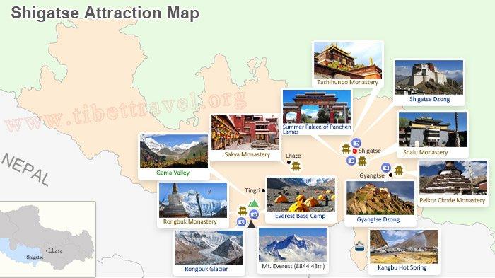 Shigatse Attractions, Tourist Sights in Shigatse, Shigatse ... on