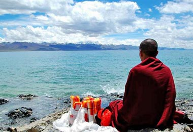 Namtso Lake is also a famous sacred Buddhist site.