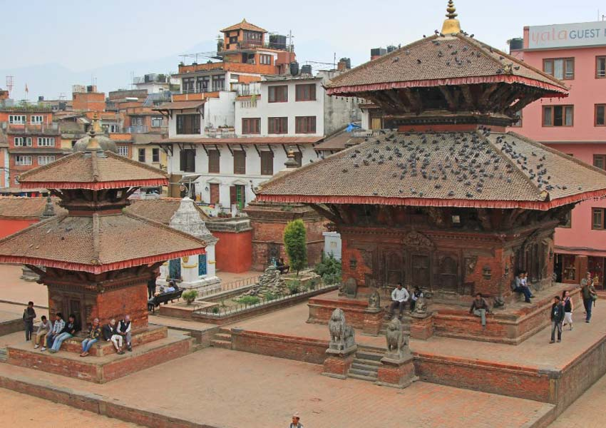 Durbar square in Patan City
