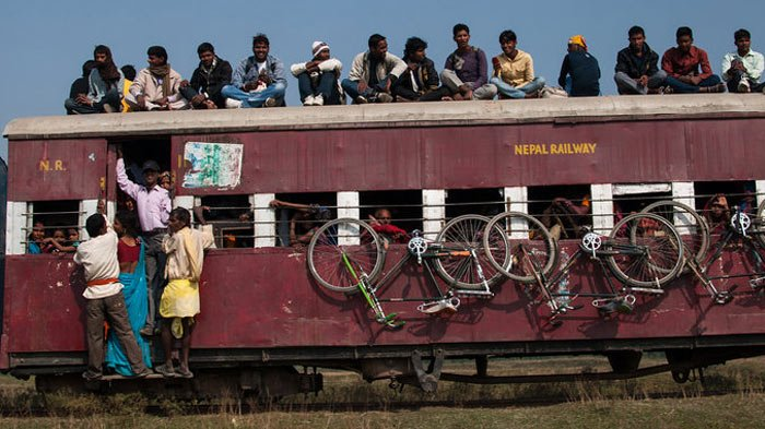 The only railway in Nepal