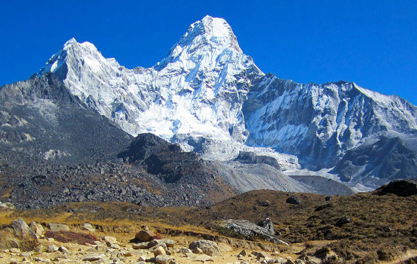Ama Dablam is one of the most beautiful mountain in the World