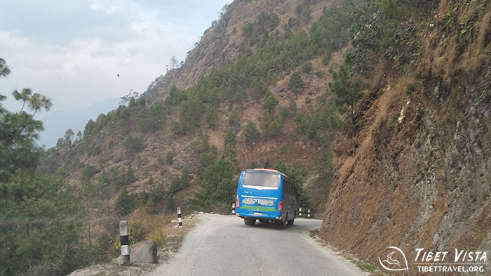 The Nepali local bus