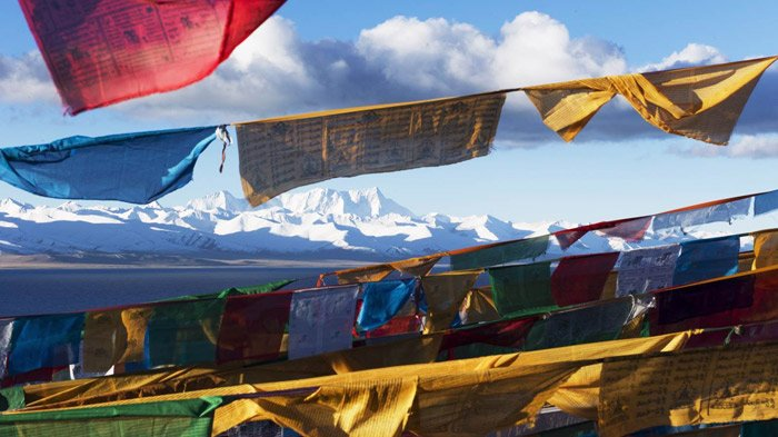 different colors in tibet