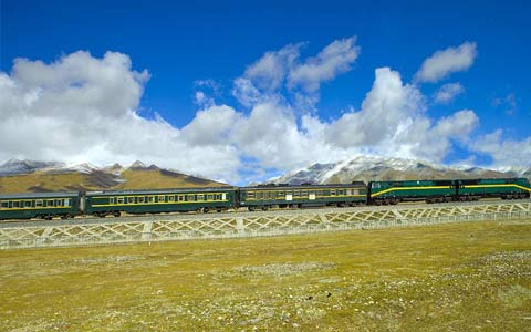 12 Days Chengdu and Tibet Train Tour