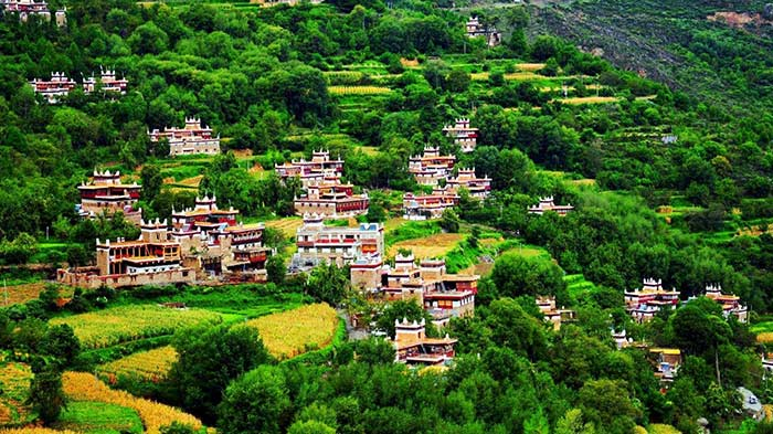 Jiaju Tibetan Village - Known as the