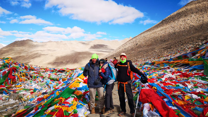 Tibet trekking in September