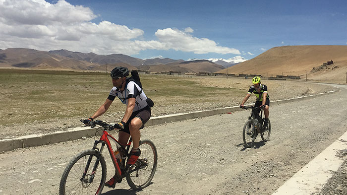 From Lhasa to Kathmandu by Bicycle