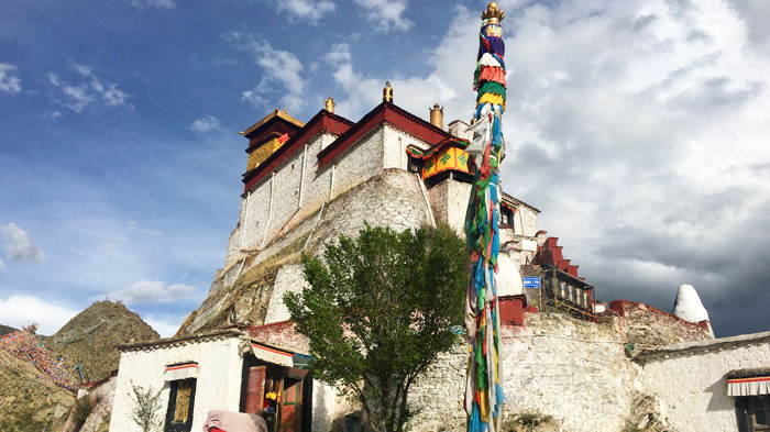 Yumbulakang Palace, the first palace in Tibet