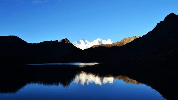 Makalu, the fifth highest mountain in the world