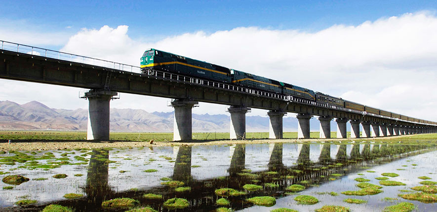 Tibet Train to Lhasa