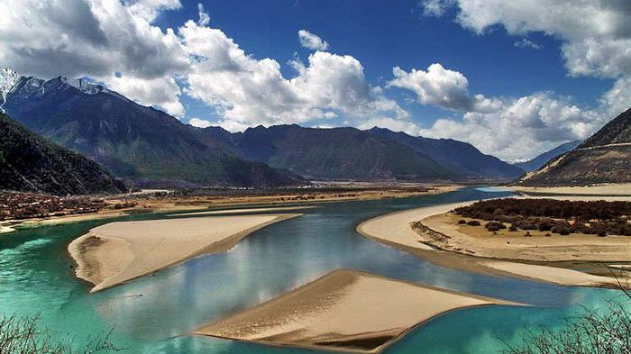 Top Great Rivers Rising In Tibet - Highest river in the world