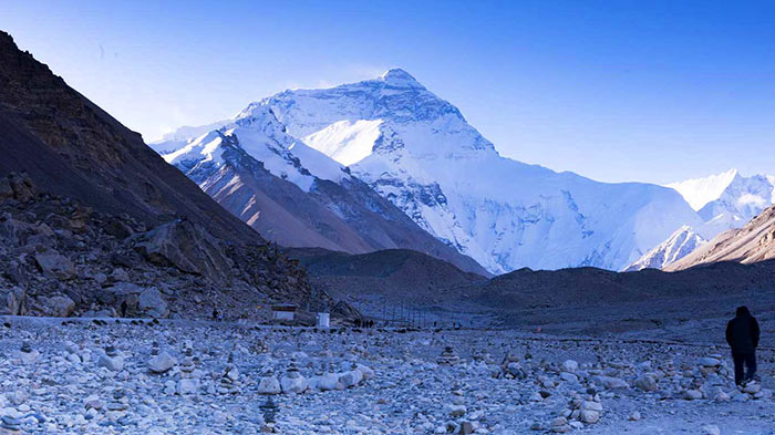 Everest Base Camp in Winter