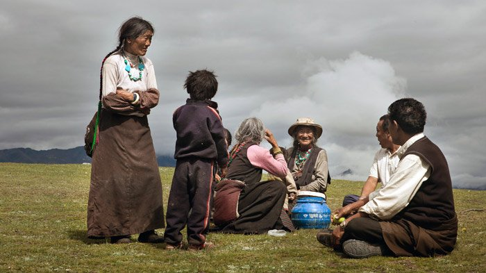how to say hello in tibetan