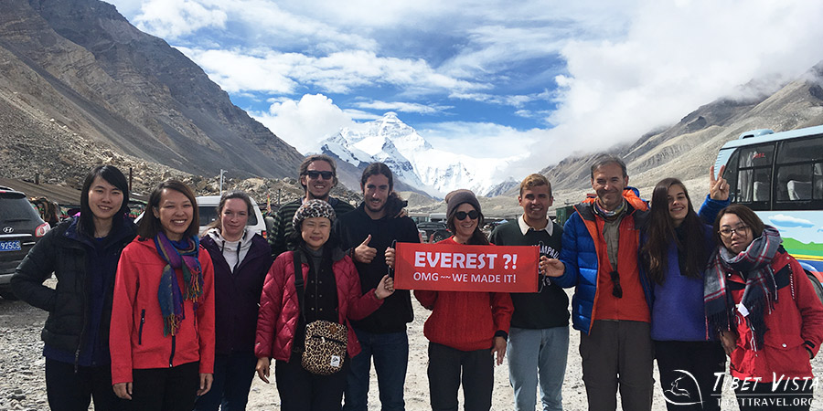 We've Made it to the Everest