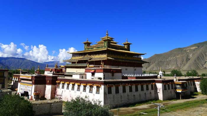 Samye Monastery-The first man-made Buddhsit monastery in Tibet