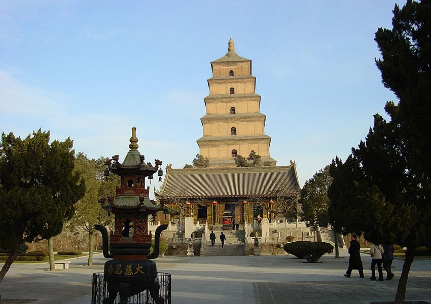Big Wild Goose Pagoda is one of  you must-see attractions in Xi'an