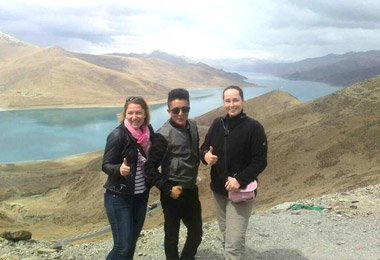 Welcome to Yamdrok Lake, one of the three largest sacred lakes in Tibet.