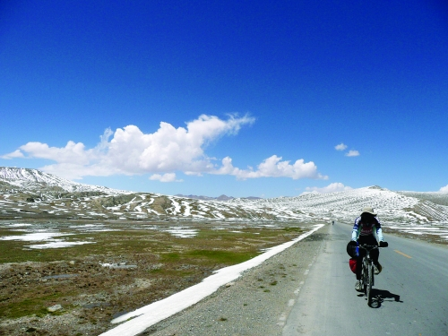riding in Tibet