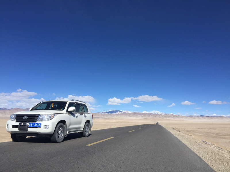 The Straight Road from Kashgar to Ali